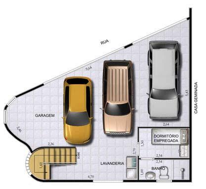 Administração de Estacionamento - Plantas e Projetos de Implantação